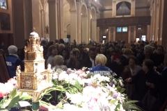 Il Reliquiario della Madonna delle Lacrime, in visita alla Comunità parrocchiale di S. Anastasia (MB) nell'Arcidiocesi di Milano