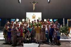 Un gruppo di pellegrini da Cerignola (Foggia)