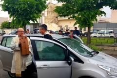 Arrivo di Don Raffaele Aprile a Novoli