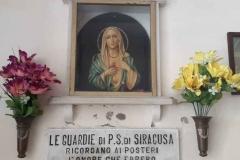 La Polizia di Stato fu testimone del Pianto della Madonna a Siracusa