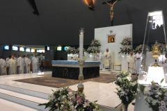 Celebrazione di Mons. Francesco Marino (Vescovo di Nola) insieme aMons Giuseppe Costanzo.